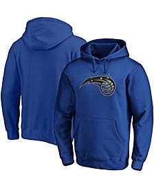 Men's Blue Orlando Magic Primary Team Logo Pullover Hoodie