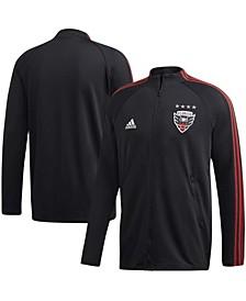 Men's Black D.C. United 2020 On-Field Anthem Full-Zip Jacket