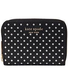 Boxed Spencer Metallic Dots Card Case