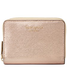 Boxed Spencer Metallic Leather Card Case