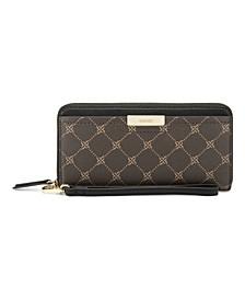 Women's Lawson Zip Around Wristlet Wallet