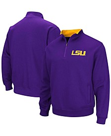 Men's Purple LSU Tigers Tortugas Logo Quarter-Zip Pullover Jacket
