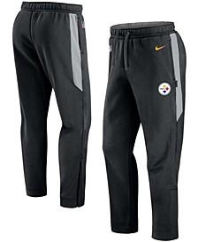 Men's Black Pittsburgh Steelers Sideline Showout Pants
