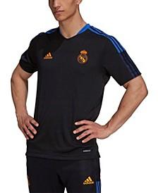 Men's Black Real Madrid 2021, 22 Training Aeroready Jersey