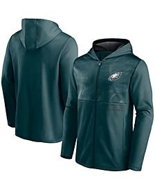 Men's Green Philadelphia Eagles Defender Full-Zip Hoodie Jacket