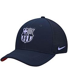 Men's Navy Barcelona Classic99 Trucker Performance Snapback Hat