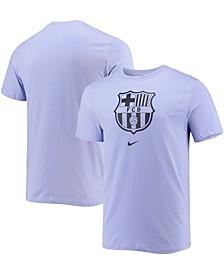 Men's Purple Barcelona Evergreen Crest T-shirt