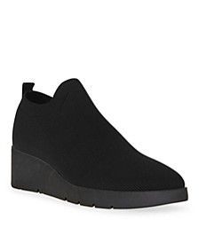 Queenie Slip-On Wedge Sneakers