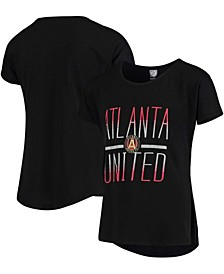 Youth Big Girls Atlanta United FC Glory Dolman T-Shirt - Black