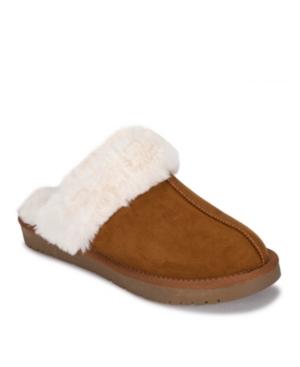 Teegan Faux Fur Clog Slippers Women's Shoes