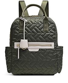 Women's Medium Zip Top Backpack