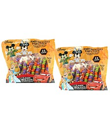 Trick or Treat Bundle, 2 Bags of Mickey and Minnie Individually Wrapped Candy Bracelets