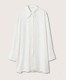 Women's Flowy Long Shirt