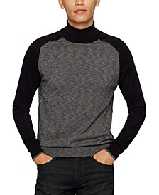 BOSS Men's Slim-Fit Turtleneck Sweater