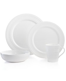 Lenox Dinnerware, Tin Can Alley 4 Degree Round 4 Piece Place Setting