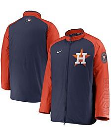 Men's Navy, Orange Houston Astros Authentic Collection Dugout Full-Zip Jacket
