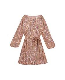 Big Girls Sequin Knit Dress