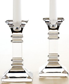 "Marquis by Waterford Treviso Candlestick, 6"" Pair"