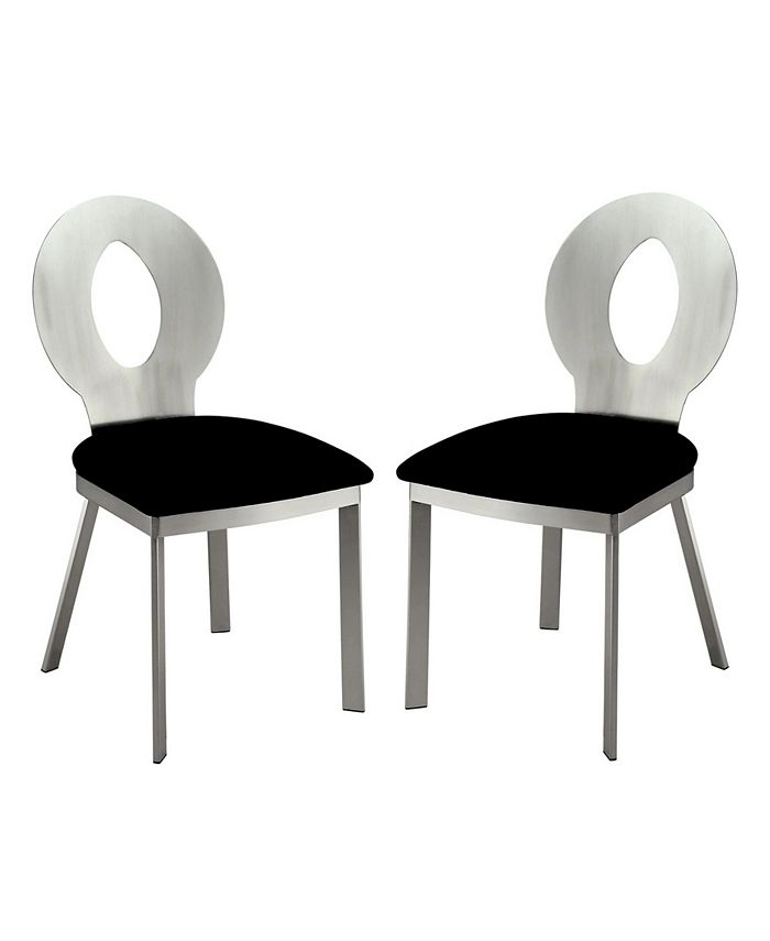 Furniture of America - Lopez Dining Chair (Set Of 2), Quick Ship