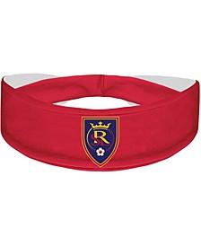 Red Real Salt Lake Primary Logo Cooling Headband