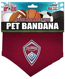 Burgundy Colorado Rapids Pet Bandana