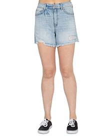 Super High Rise Midi Wedge Shorts
