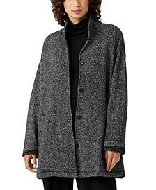 Organic Cotton Stand-Collar Jacket