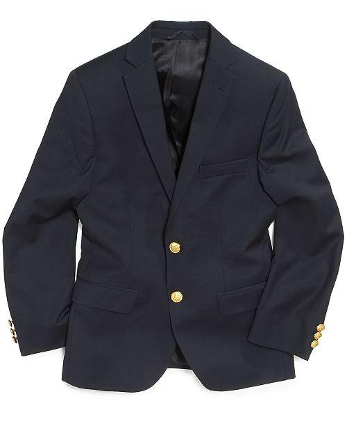 Lauren Ralph Lauren Solid Suit Blazer, Big Boys