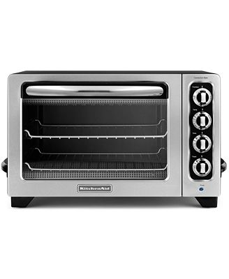 kitchenaid kco222ob countertop toaster oven electrics kitchen macy 39 s. Black Bedroom Furniture Sets. Home Design Ideas
