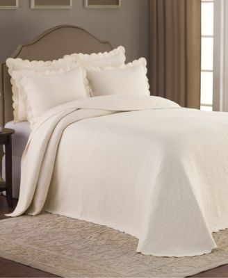 claire matelasse ivory bedspreads