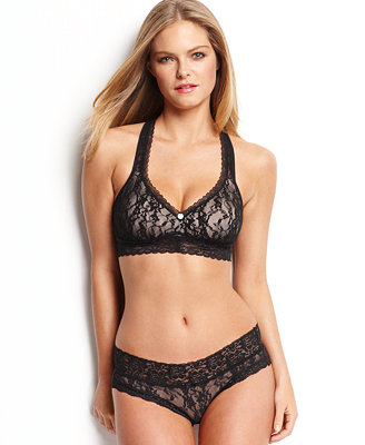 Dkny Signature Lace T Back Bralette And Bikini Bras