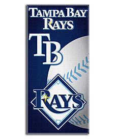 Northwest Company Tampa Bay Rays Emblem Beach Towel