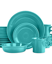 Fiesta 16-Piece Turquoise Set, Service for 4