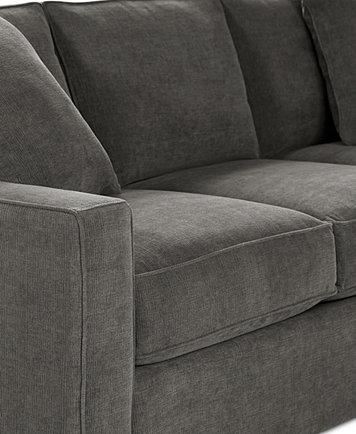 Radley Sofa Bed Radley 74 Fabric Full Sleeper Sofa Bed Created For