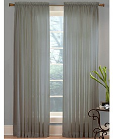 "CLOSEOUT! Sheer Angelica Voile 59"" x 108"" Panel"
