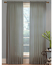 "Miller Curtains Sheer Angelica Voile 59"" x 84"" Panel"