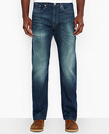 Levi's Men's 505 Regular-Fit Jeans, Cash