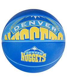 Spalding Denver Nuggets Size 7 Courtside Basketball