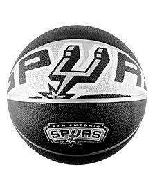 Spalding San Antonio Spurs Size 7 Courtside Basketball