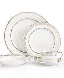 Lauren Ralph Lauren Dinnerware, Silk Ribbon Pearl Collection