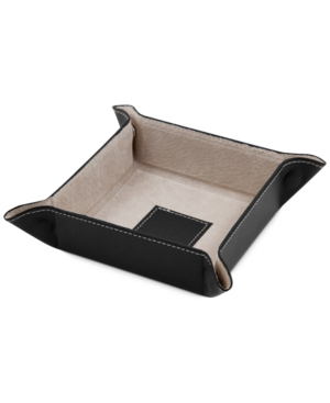 Snap Leather Valet Tray