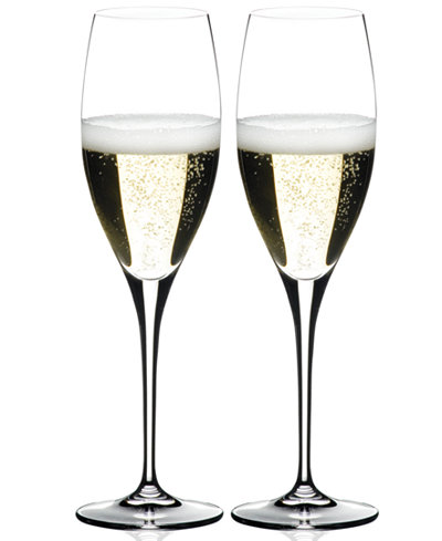 Riedel Set of 2 Heart to Heart Champagne Flutes