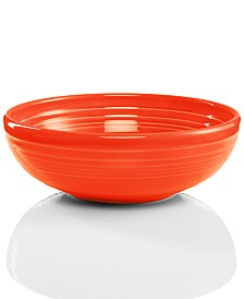 Fiesta Poppy 38 oz. Medium Bistro Bowl