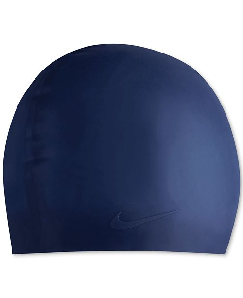 9683aa013f2 Nike Solid Silicone Swim Cap   Reviews - Swimwear - Women - Macy s