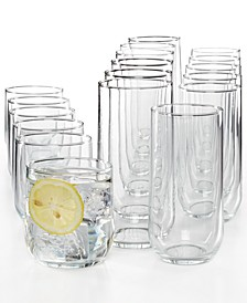 Luminarc Mode 18-Pc. Glassware Set