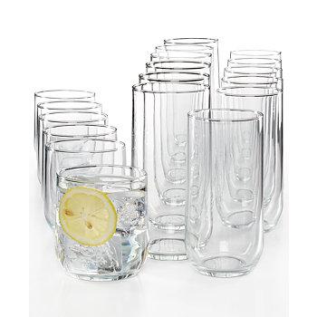Luminarc Metro 18 Piece Glassware Set