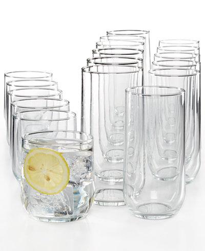 Luminarc Mode 18 Pc Glassware Set Glassware Amp Drinkware