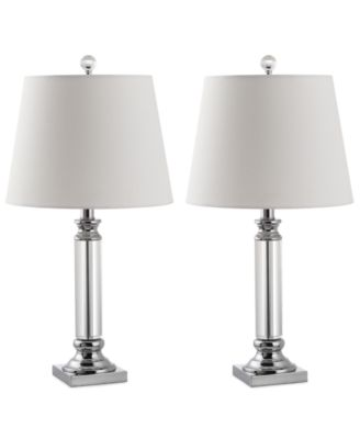 Image 1 Of Safavieh Set Of 2 Zara Crystal Table Lamps