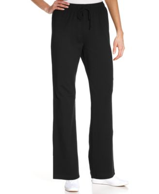 Image of Karen Scott Pull-On Lounge Pants, Only at Macy's