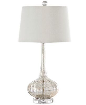 Elegant Regina Andrew Design Milano Antique Mercury Glass Table Lamp